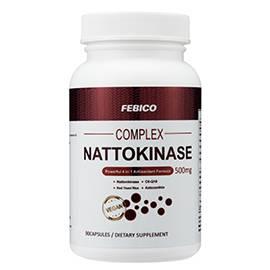 Natto Complex V-Capsules - Nattokinase Capsules