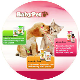BabyPet ® / Supplemento dell'animale domestico