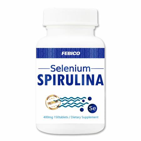 Febico Selenium Spirulina - Spirulina Selenium