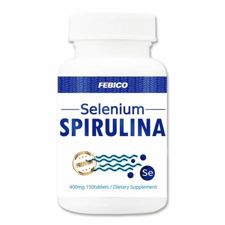 Febico Selen Spirulina - Spirulina Selen