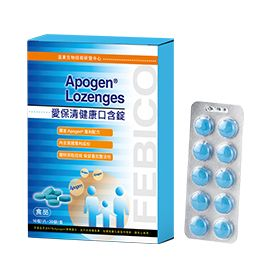Apogen® Lozenges 400mg Tablets - Blue Spirulina Extract Tablets