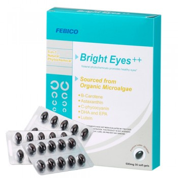 Bright Eyes Lutein Softgel - FEBICO Bright Eyes Softgel