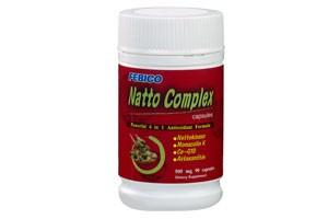 Cápsula de complejo natto