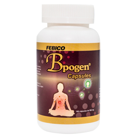 Cápsulas de Bpogen - FEBICO Organic Vegan