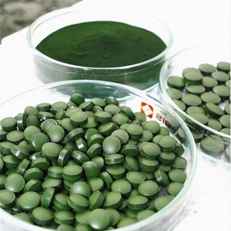 Tablete organice de Chlorella