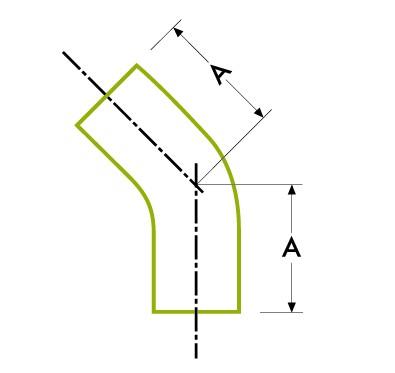 45º 엘보-자동 튜브 용접
