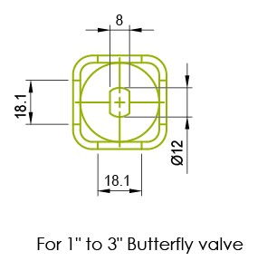 Butterfly Valve Stainless Handles