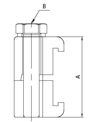 ISO二重壁      クランプ(Al)