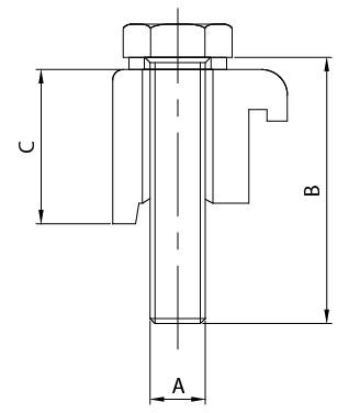 ISOシングルウォール      クランプ(Al)