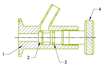 Sample cock valve