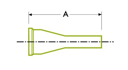 ट्यूब वेल्ड कॉन्सेंट्रिक रेड्यूसर - हाइजेनिक क्लैंप जॉइंट