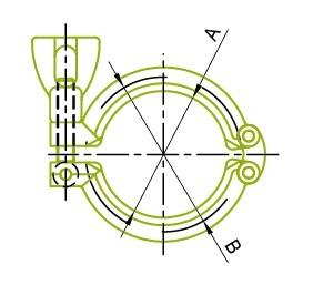 13SF 헤비 듀티 더블 핀 클램프