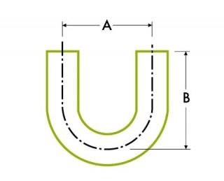 自動チューブ溶接:180ºリターン 溶接式ベンド
