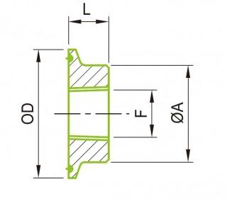 23BMP غطاء ميزان الحرارة