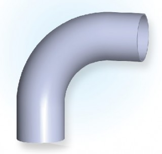 90° Elbow With Tangents