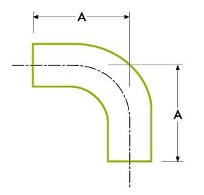 자동 튜브 용접 : 90º 엘보