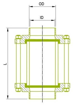 DIN溶接終了 サイトグラス