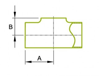 Equal Tee Without Straight End
