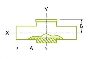 自動チューブ溶接:計器 溶接式チーズ