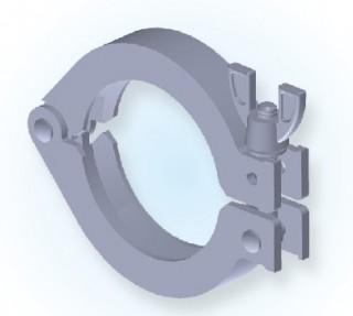 KF 단일 핀 클램프 (Al)