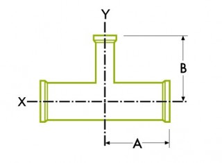 Hygienic Clamp Joint : Reducing Tee