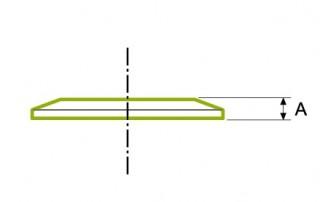 위생 클램프 조인트 : 솔리드 엔드 캡