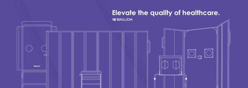 BAILDIA oferuje produkty do wykorzystania przestrzeni szpitalnej.