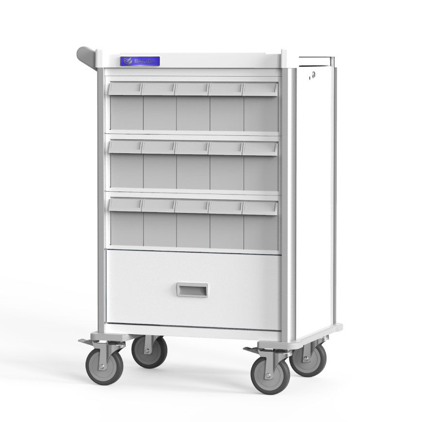 Practical Medication Cart for Pharmacy.