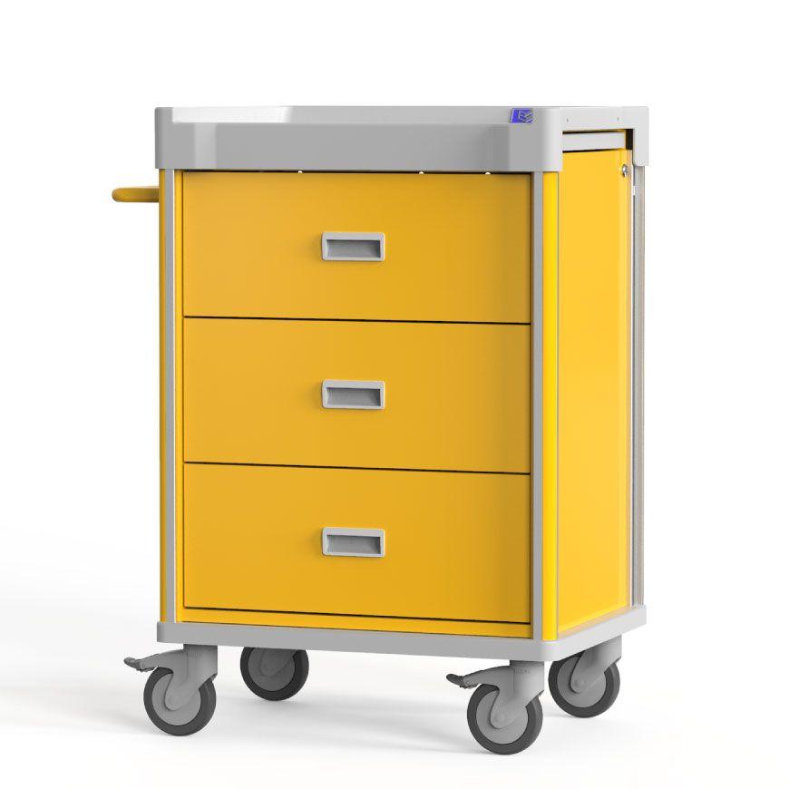 Practical Isolation Cart for Various Scenarios.