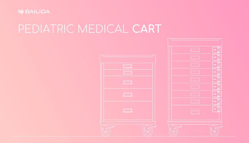 Pediatric Medical Cart.