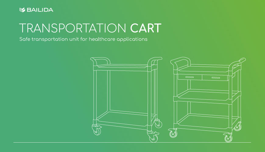 Safe transportation unit for healthcare applications.