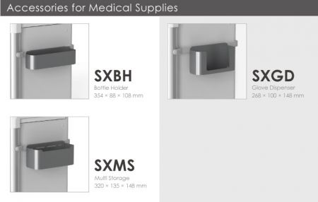 Accessories for Medical Supplies.