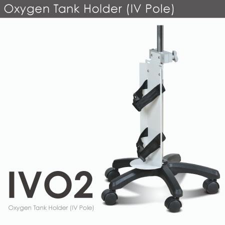 Soporte para tanque de oxígeno (portasueros).