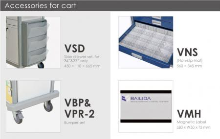 Bottom Bumpers, Tilt 3 Tier File Tray & Labeling.