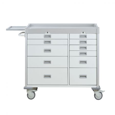 Double Medical Cart
