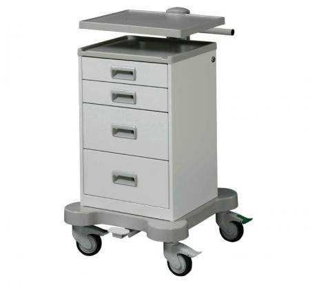 Basic and Modular Equipment Cart with Drawers - Basic and Modular Equipment Cart with Drawers.