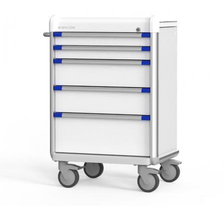 Anesthesia Cart with Armor Bumper Design (EX Series)