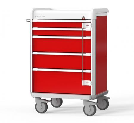 Emergency Cart with Armor Bumper Design (EX Series)