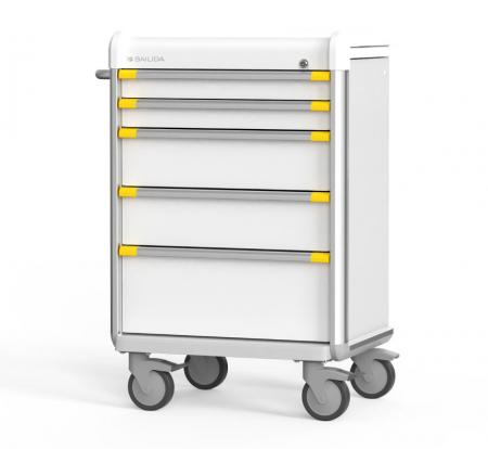 Isolation Cart with Armor Bumper Design (ES Series) - Highly Customizable Isolation Cart.