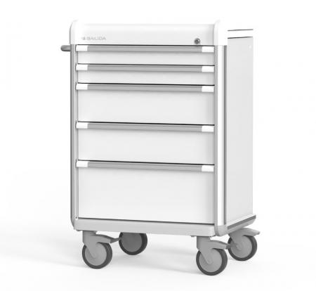Procedure Cart with Armor Bumper Design (EX Series) - Highly Customizable Procedure Cart.