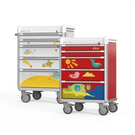 Pediatric Cart (EX Series) - Practical Pediatric Cart.