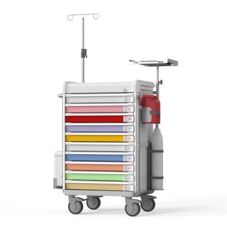Pediatric Emergency Cart (EX Series) - Life-saving partner for pediatrics.