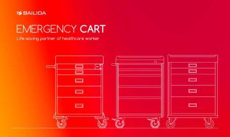 Emergency Cart - Life-saving partner of healthcare worker.