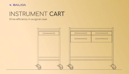 Instrument Cart - Drive efficiency in surgical case.