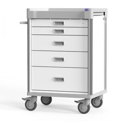 Carro para procedimientos prácticos con accesorios completos (serie MX) - Carro de procedimientos prácticos para varios escenarios.