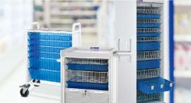 Sistema de armario para suministros médicos