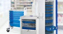 Cabinet System for Medical Supplies
