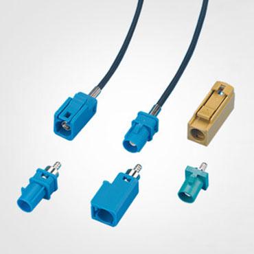 Connecteur automobile, connecteur Fakra HSD.