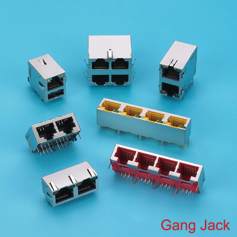 Stack RJ45 Jack