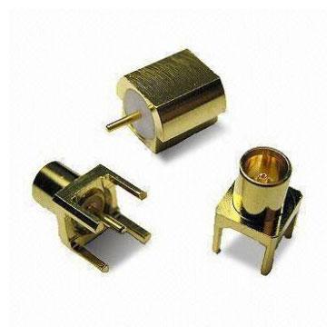 Prise de connecteur coaxial RF pour montage sur circuit imprimé
